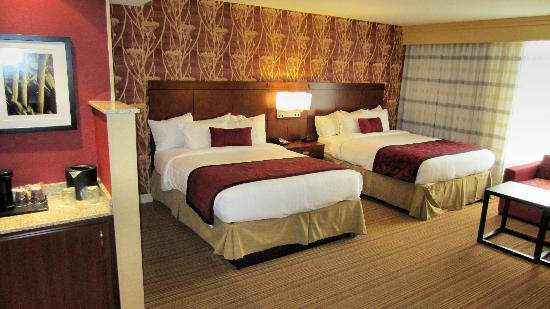 Courtyard by Marriott Amarillo Downtown: Double room