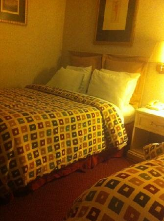 Days Inn Livonia  - Detroit: one of the beds in my room