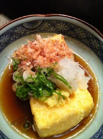 Sushi Bar Zipang: agadashi tofu