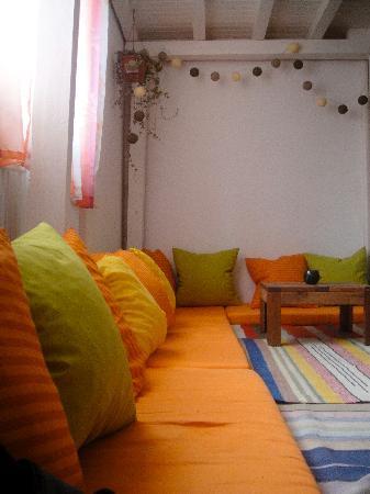 Podstel Bucharest : Lounge area