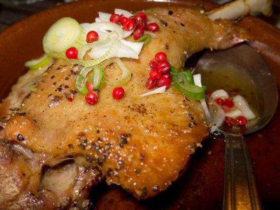 Le Mercurey : Duck in Confit - superb!