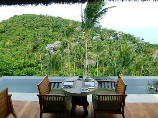 Four Seasons Resort Koh Samui Thailand: The view from breakfast