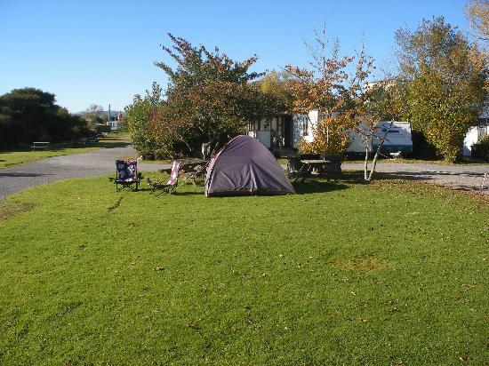 Cosy Cottage Thermal Holiday Park Rotorua: tent site