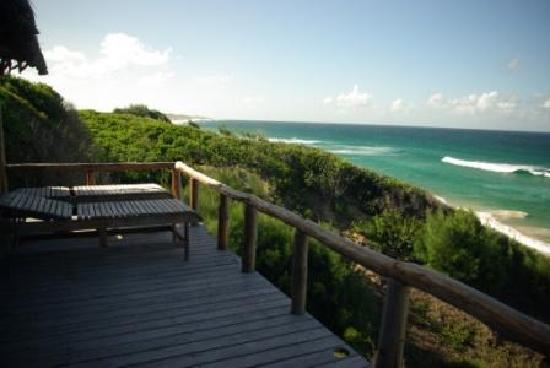 Bamboozi Beach Lodge: Seaview chalets