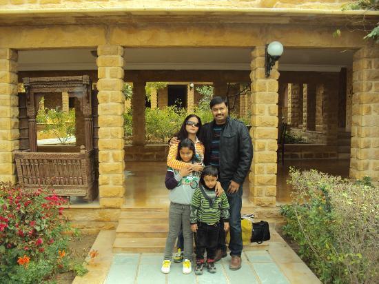 Hotel Rawalkot Jaisalmer: main area
