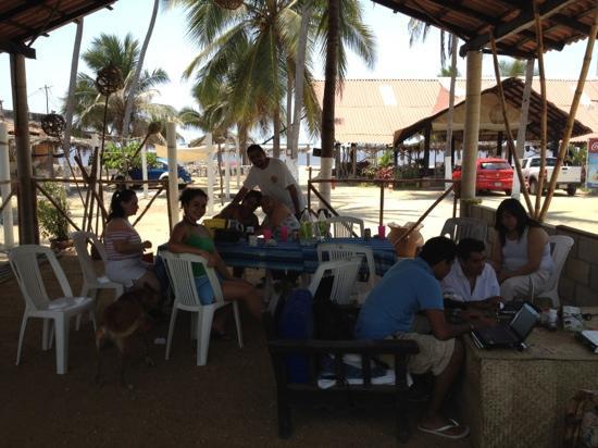 Hotel Restaurant Quinta Karla Pie de la Cuesta : en familia disfrutando de las vacaciones