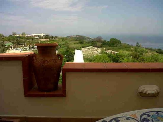 Poggio Aragosta Hotel & Spa : vista dal balcone relax