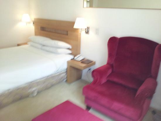 Green Grass Hotel: ベットソファー
