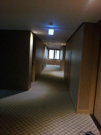 Green Grass Hotel: 廊下