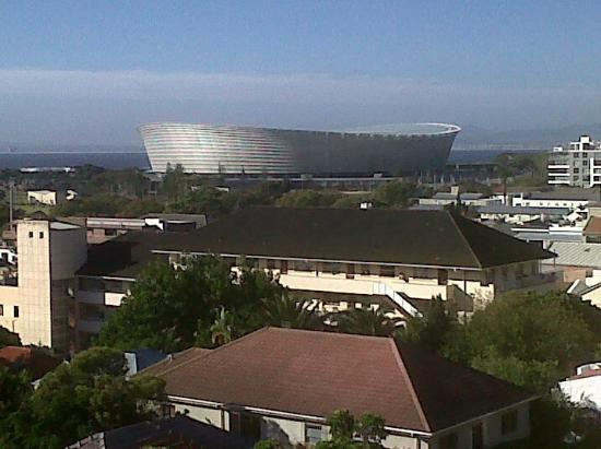 Romney Park All Suite Hotel & Spa: View of Cape Town soccer stadium
