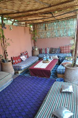 Hostel Riad Mama Marrakech: Roof terrace