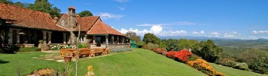lThe Aberdare Country Club, only a two-hour drive heading northwest from Nairobi, is nestled on