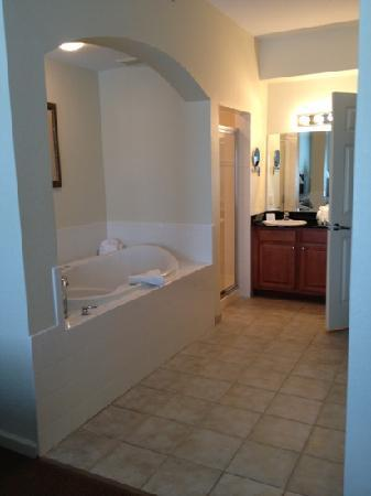 Lake Buena Vista Resort Village & Spa: master bath