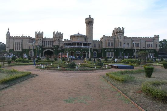 Bangalore Palace: View from the garden