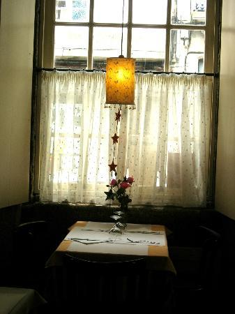 Galgala Vegetariano: ventana