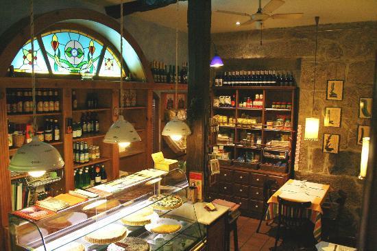 Galgala Vegetariano : pequeña tienda