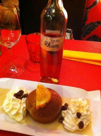 Le Cafe Marguerite : Rum baba