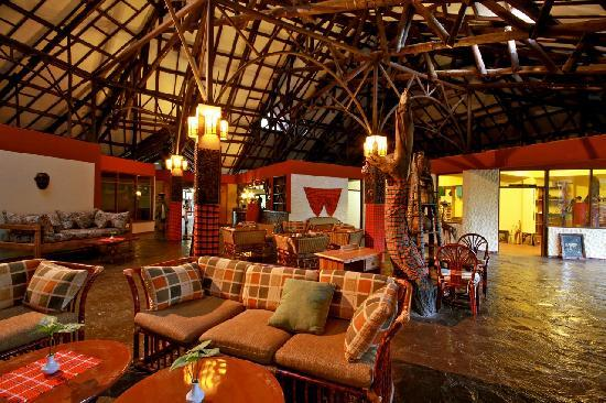 Mara Leisure Camp: The Reception Area