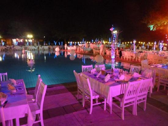 Club Med Kemer: one of many wonderful dinners