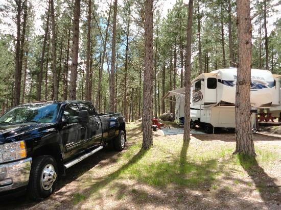 Fort Welikit Family Campground: Our nice big campsite