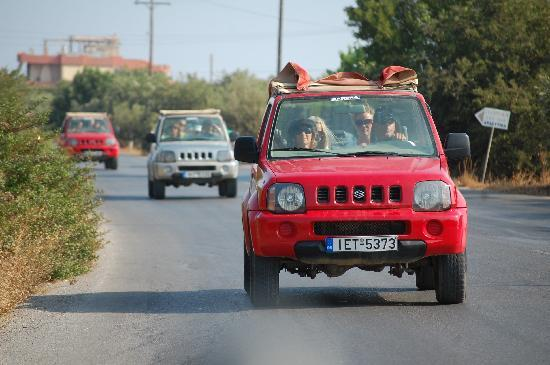 Koutouloufari, Grecia: Jeepsafari on Crete