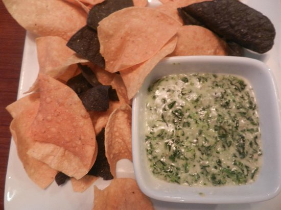 Ruby Tuesday: 1Spinach Dip