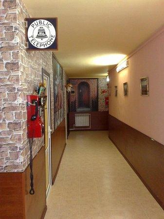 Grammy Hostel : hallway