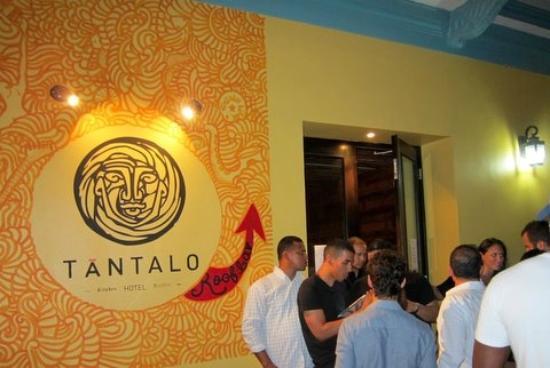Tantalo Hotel / Kitchen / Roofbar: Entrance