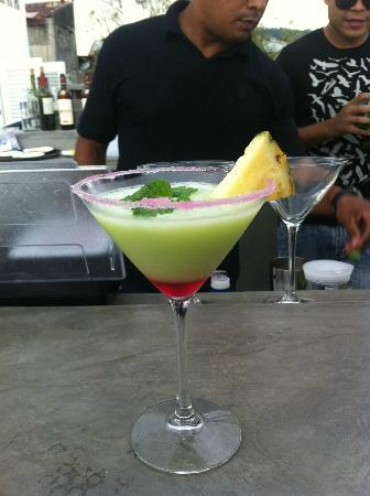 Tantalo Hotel / Kitchen / Roofbar: Only place i've seen in Panama with a true cocktail menu
