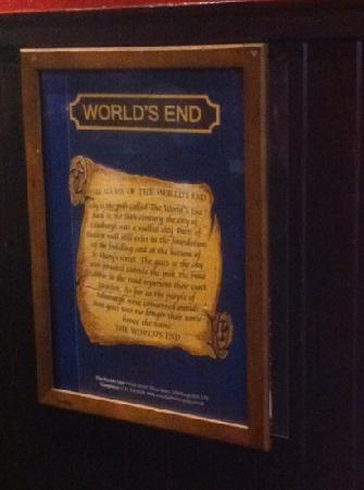 The World's End: World's End story