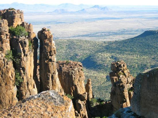 Graaff-Reinet, South Africa: View from the top, with the Karoo laid out before you.