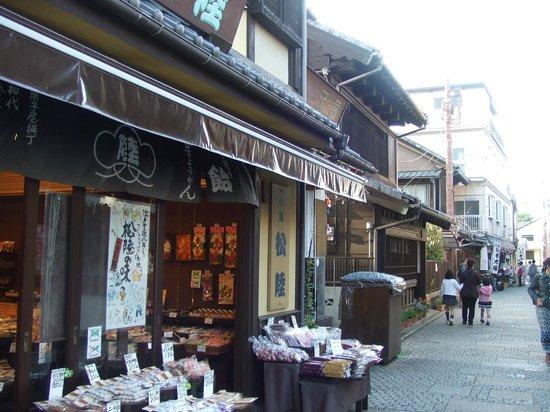 Kawagoe, Japan: 懐かしい雰囲気の町並です
