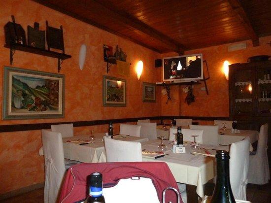 Hostaria Da Vigno: Sala interna