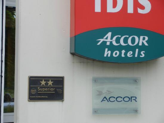 Ibis Köln Frechen: Abis Proudly Displays Their Two Star Rating