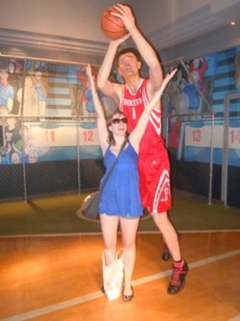 Madame Tussauds New York : basketball player