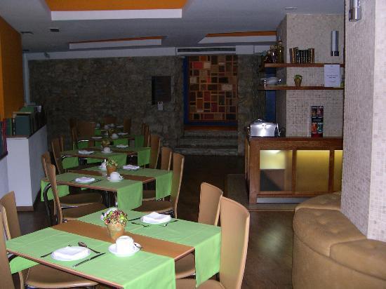 Hotel Lisboa Tejo: sala pranzo