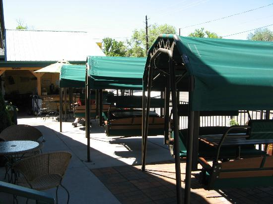 Buffalo Pointe Lodge: Ristorante esterno