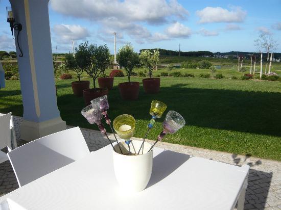 Quinta dos Bons Cheiros: Blick von der Terrasse