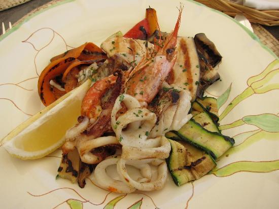 Il Flauto di Pan : Stunning Seafood Plate (Main)