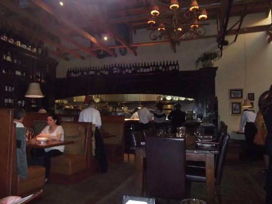 Cafe Fiore Restaurant : Inside restaurant