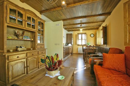 Casa Martin: salon cocina