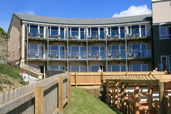 Watergate Bay Hotel: newer part of hotel