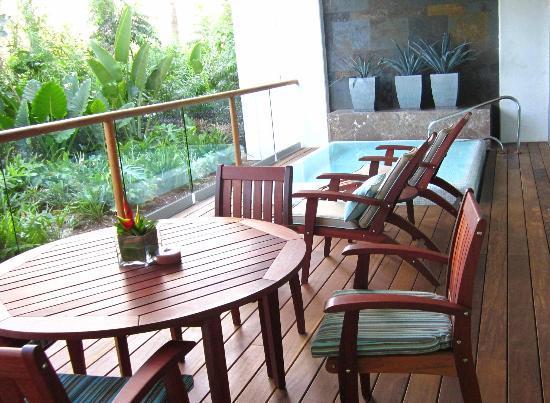 Grand Luxxe Riviera Maya: Patio