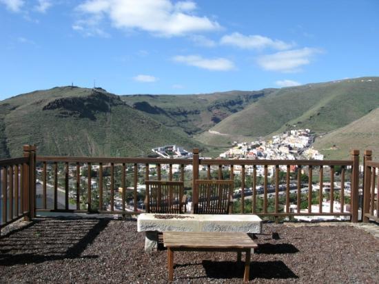 Parador de la Gomera: View from terrace Parador La Gomera