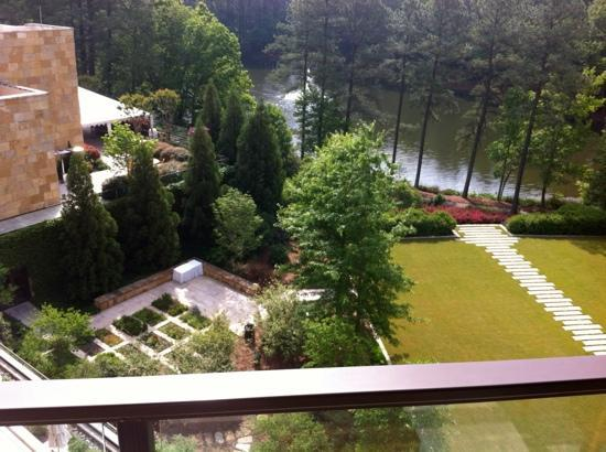The Umstead Hotel and Spa: looking outside room