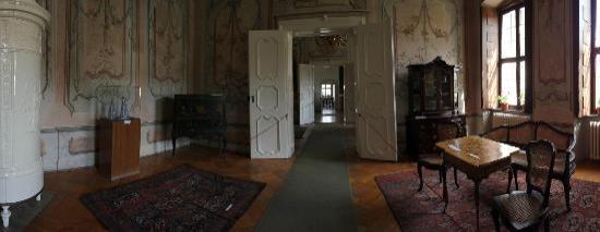 Sarvar Nadasdy Castle : Zentraler Gang Museum