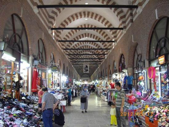 ‪The Grand Bazaar of Edirne‬