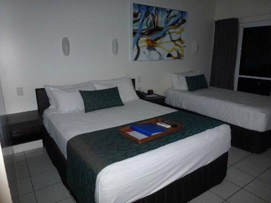 Castaways Resort & Spa Mission Beach: Bedroom