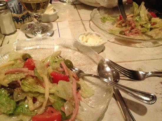 Anastasia Inn : 1905 salad small one split between 2 people