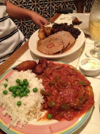 "Anastasia Inn : Ropa veija and ""Criollo""lets not forget the plantains!"